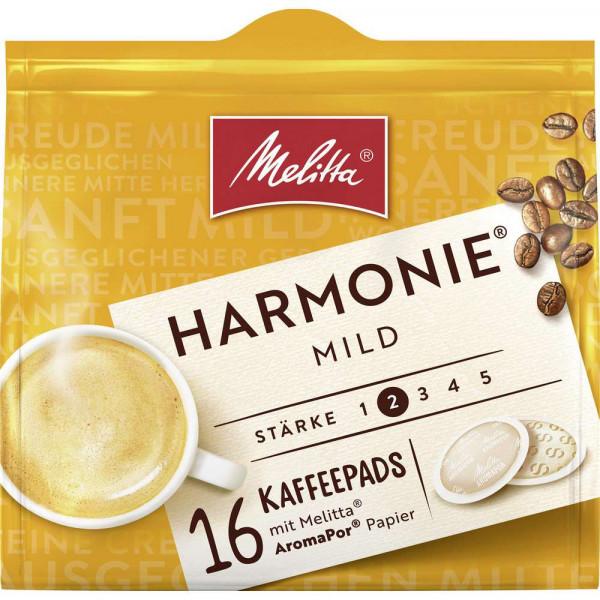 Kaffee Pads Harmonie, mild