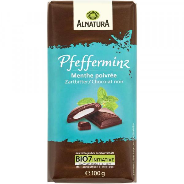 Schokolade Pfefferminz