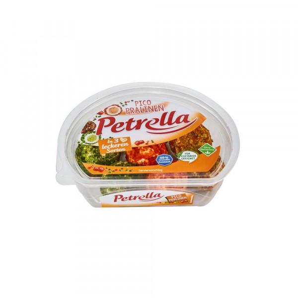 Frischkäsepralinen, Kräuter/Paprika/Schinken