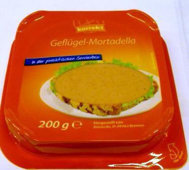 Geflügel-Mortadella