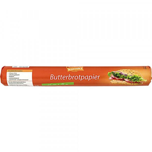 Butterbrotpapier 25cm