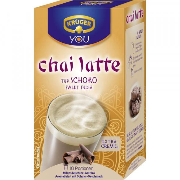 "Milch-Tee ""Chai Latte"", Schoko Sweet India"