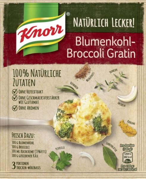 Fix-Würzmischung, Blumenkohl-Broccoli-Gratin