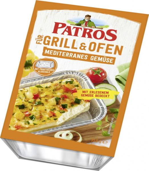 Grill- & Ofenkäse, mediterranes Gemüse