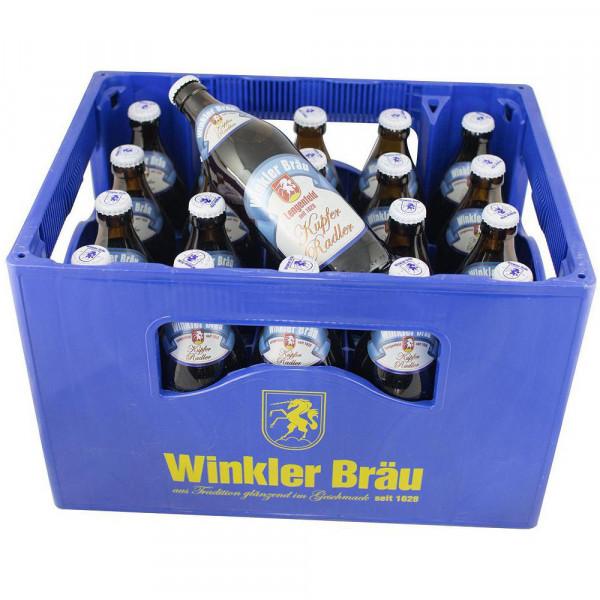 """Biermischgetränk, """"Kupfer Radler"""" 2,6% (20 x 0.5 Liter)"""