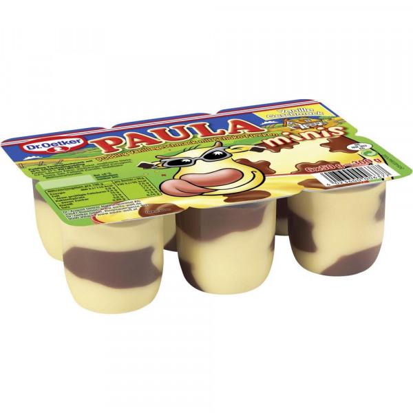 "Pudding ""Paula"" Mini, Vanille-Schoko 6 x 50g"