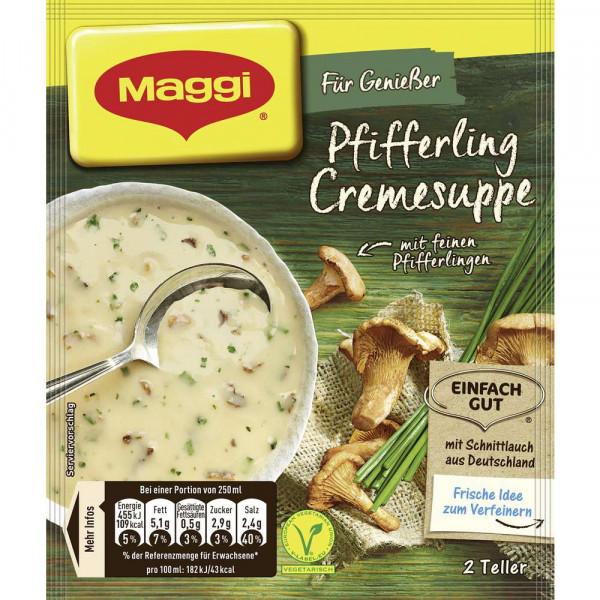 Genießer Suppe, Pfifferling Creme