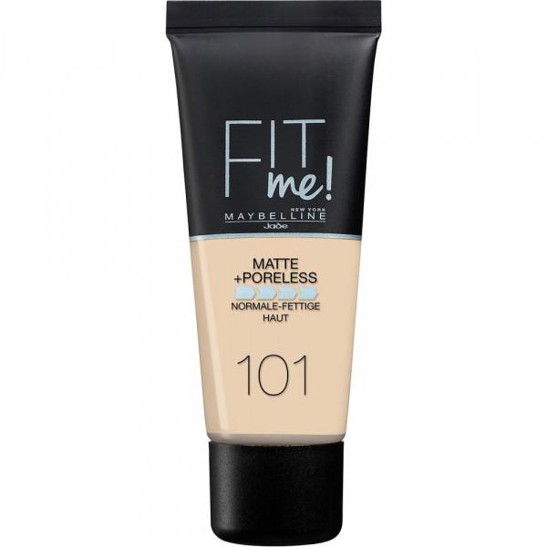 Make-Up Fit Me Matte + Poreless, True Ivory 101