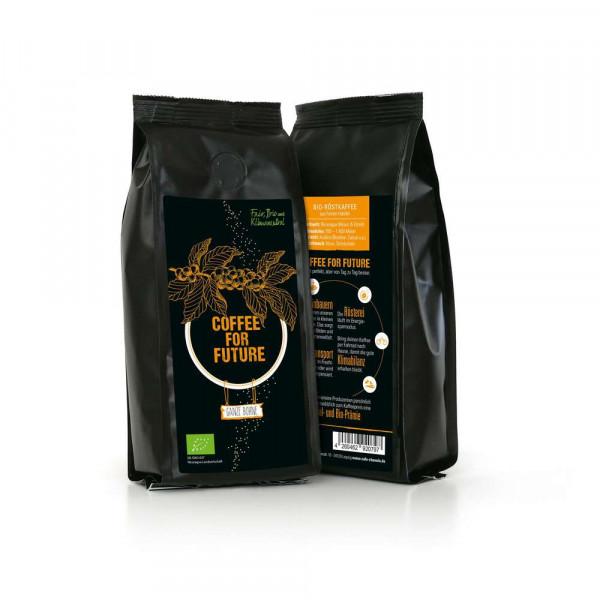 """Bio Kaffee-Bohnen """"For Future"""""""
