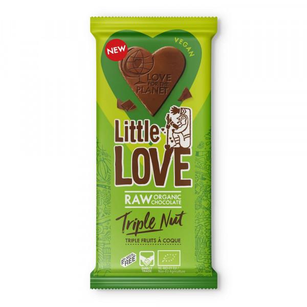 "Tafelschokolade ""Little Love"", Triple Nut"