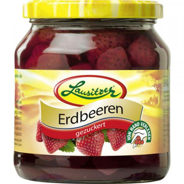 Erdbeeren, gezuckert