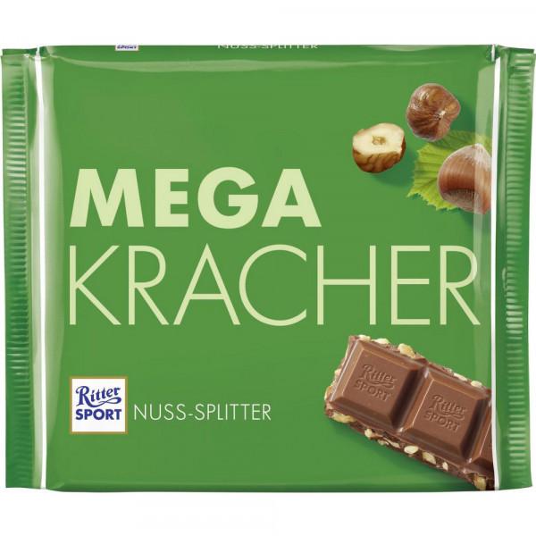 Tafelschokolade, Nuss-Splitter