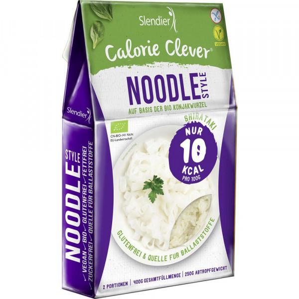Bio Noodle Style auf Konjakwurzel Basis