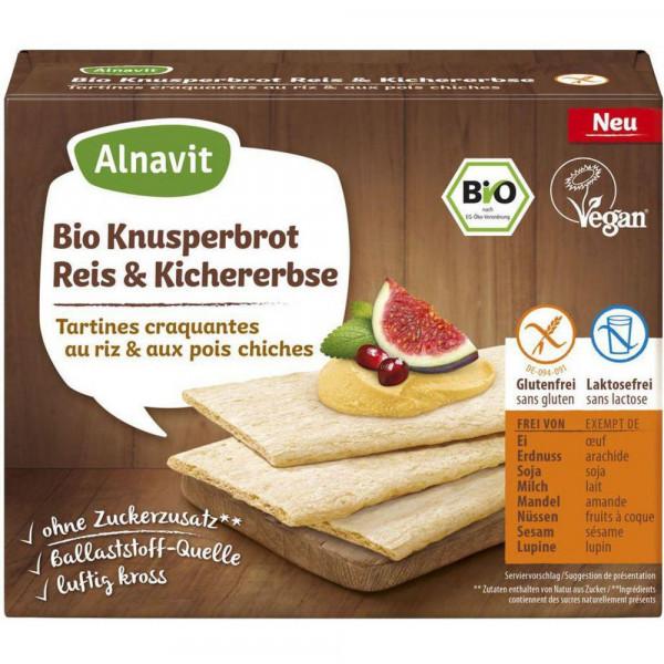Bio Knusperbrot, Reis & Kichererbsen