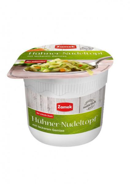 Hühner-Nudeltopf mit leckerem Gemüse