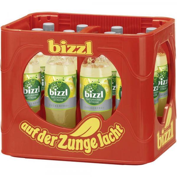 Zitronen Limonade, naturherb & zuckerfrei (12 x 1 Liter)