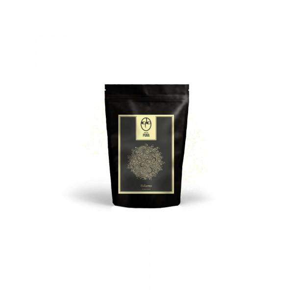 Sidamo-bio Kaffee gemahlen
