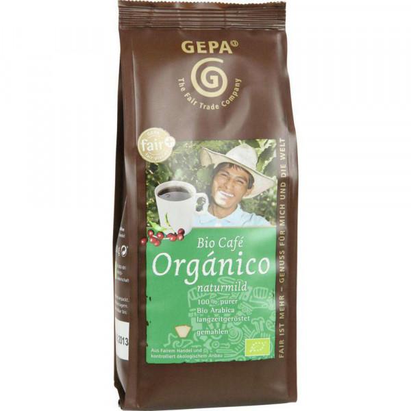 Bio Kaffee Orgánico, gemahlen