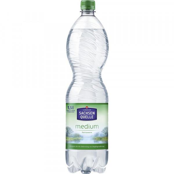 Mineralwasser, Medium (6 x 9 Liter)