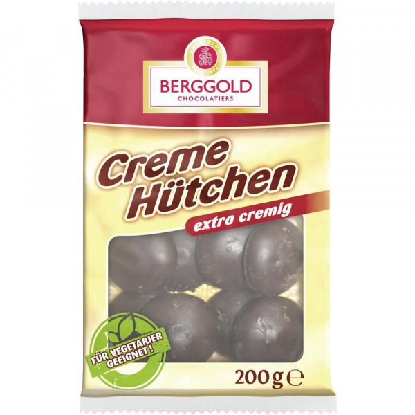 Creme-Fondant-Hütchen mit Schokoladen