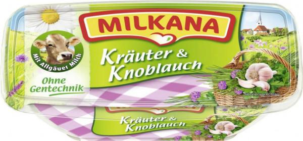 Schmelzkäse, Knoblauch-Kräuter