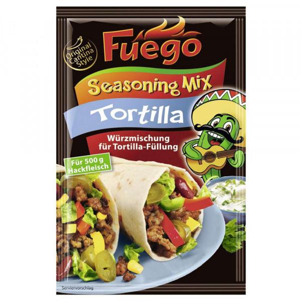 Würzmischung Seasoning Mix, Tortilla