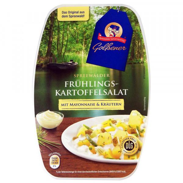 Frühlings-Kartoffelsalat mit Mayonnaise & Kräutern