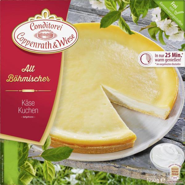 Altböhmische Kuchen, Käse, tiefgekühlt