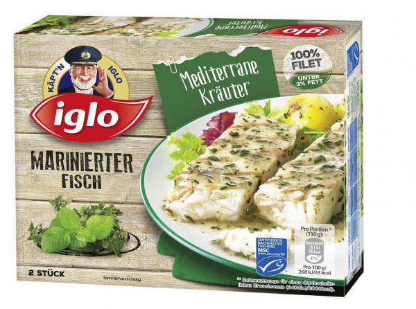 """Marinierter Fisch """"Mediterrane Kräuter"""", tiefgekühlt"""
