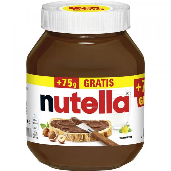 Nuss-Nougat Brotaufstrich + 75g