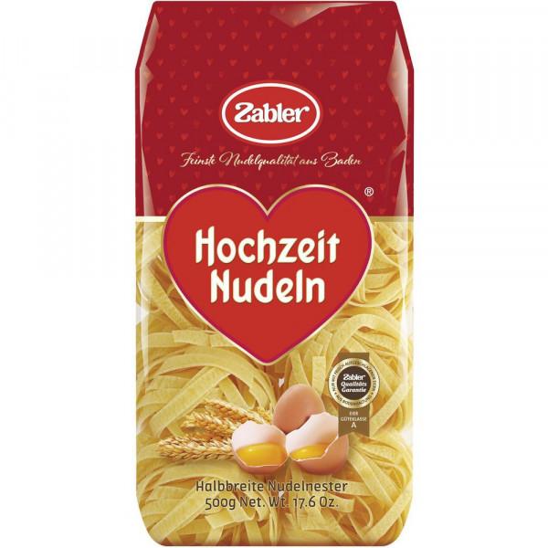 """Hochzeit Nudeln """"Halbbreite Nudelnester"""""""