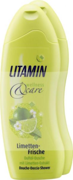 Duftöl-Dusche, Limetten-Frische (2 x 500 Milliliter)