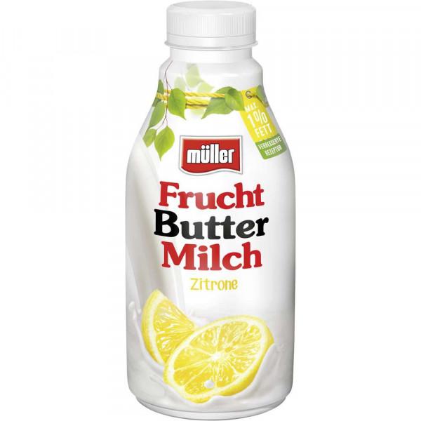 Frucht-Buttermilch, Zitrone