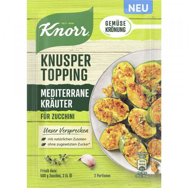 Knusper Topping Mediterrane Kräuter