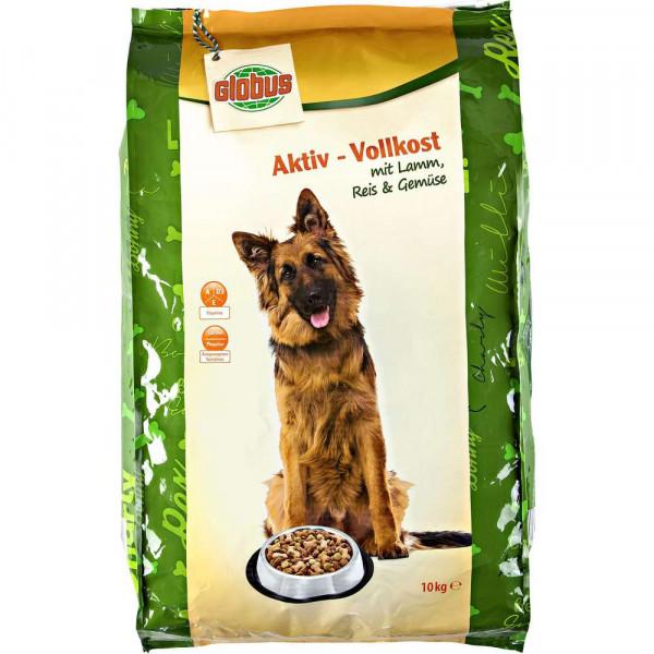 Hundefutter Aktiv-Vollkost, Lamm Reis & Gemüse