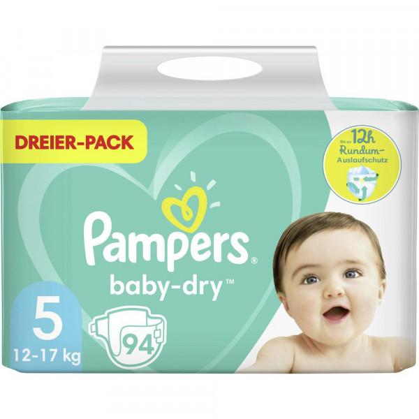 Windeln Baby Dry Gr. 5, 11-16kg Dreierpack