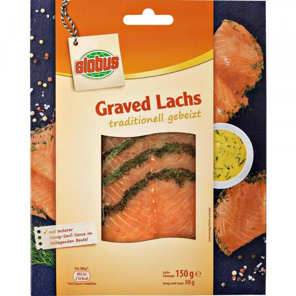 Graved Lachs mit Sauce