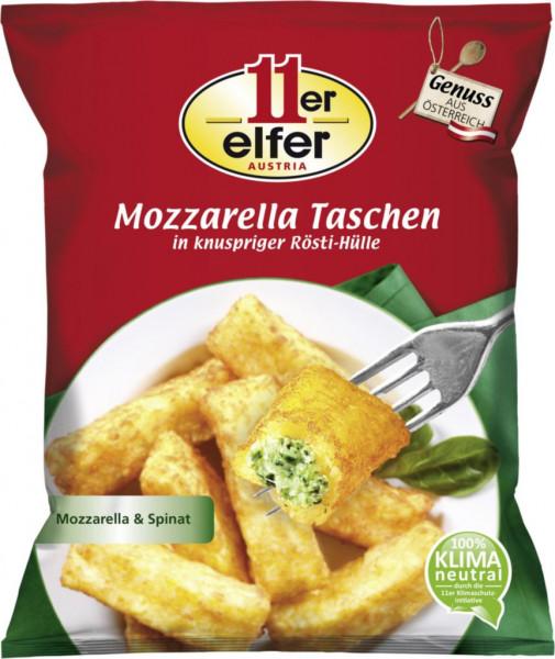 Kartoffeltaschen mit Mozzarella/Spinat-Füllung, tiefgekühlt