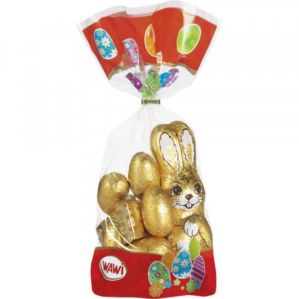 Schokoladen-Ostermix mit Nougat, Gold