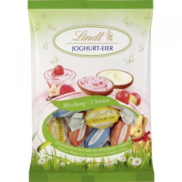 Schokoladen-Eier Mischung, Joghurt
