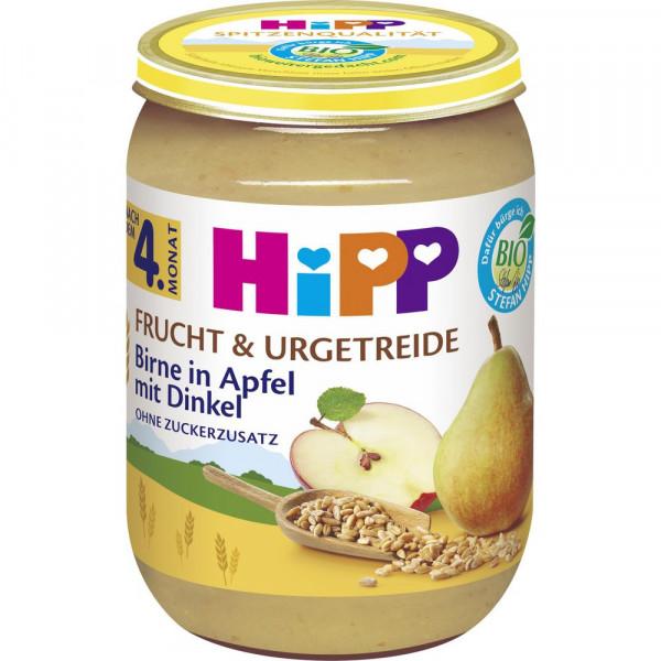 """Babynahrung """"Frucht & Getreide"""", Birne/Apfel/Dinkel"""