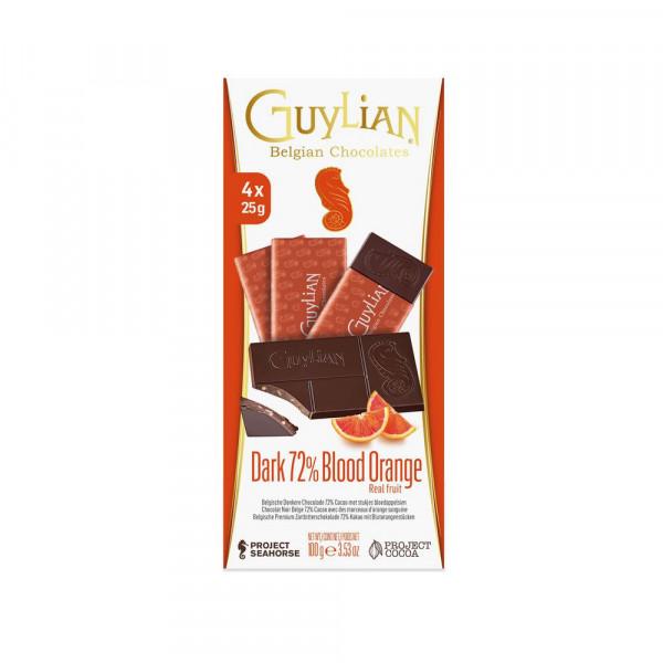 Tafelschokolade Zartbitter-Blutorange
