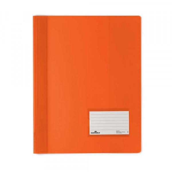 Schnellhefter, A4, Kunststoff, orange