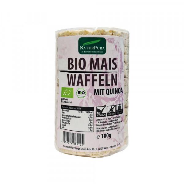 Bio Maiswaffeln mit Quinoa