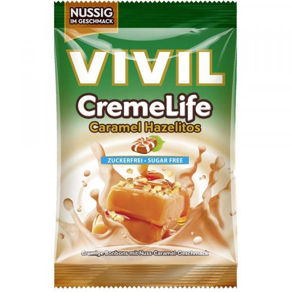 """Bonbon """"Creme Life"""" ohne Zucker, Caramel Hazelitos"""
