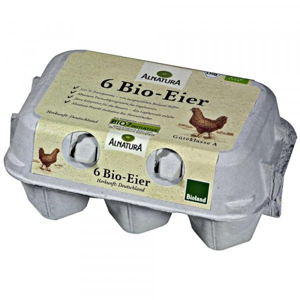 """Bio Eier """"Bruderküken"""", Gr. M-L"""