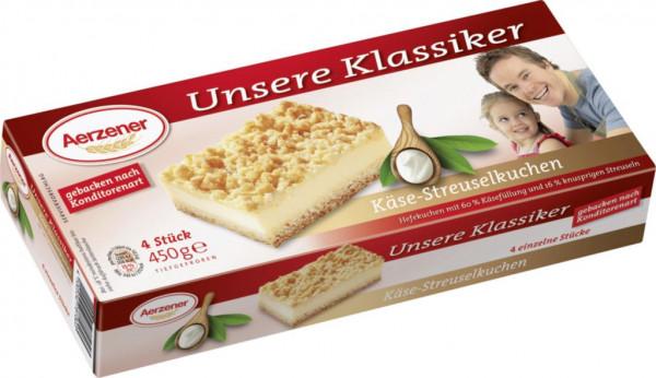 """Kuchenschnitten """"Käse-Streuselkuchen"""", tiefgekühlr"""