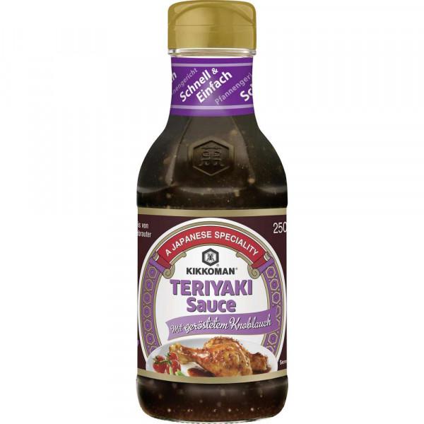 Teriyaki Sauce mit geröstetem Knoblauch