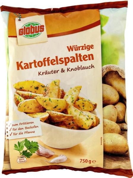 Kartoffelspalten Kräuter, tiefgekühlt