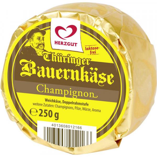 Thüringer Bauernkäse, Champignon